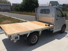 製作していた軽トラックは無事完了。次は…